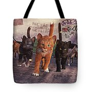 March Of The Mau Tote Bag
