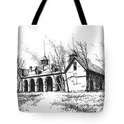 Marcus Daly Tammany Barn Hamilton Montana Tote Bag