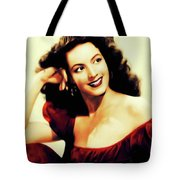 Maria Felix, Vintage Actress Tote Bag