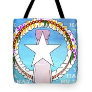 Marianas Anthem Tote Bag by Michelle Dallocchio