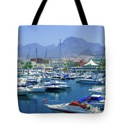 Marina Of Costa Adeje Tote Bag