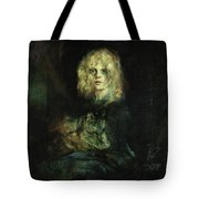 Marion With Cat Tote Bag