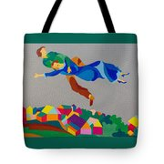 Mark And Bella Chagall Above The City Tote Bag