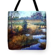 Marsh Living Tote Bag