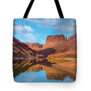 Mat Martin Point And The Colorado Tote Bag