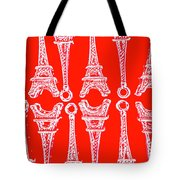 Match Made In Paris Tote Bag
