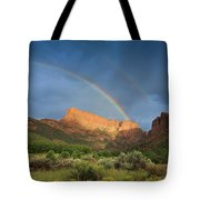 Maxwell Canyon Rainbow Tote Bag
