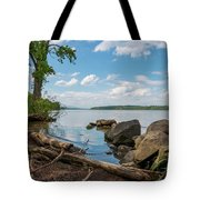 May Afternoon On The Hudson Tote Bag