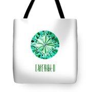 May Birthstone - Emerald Tote Bag