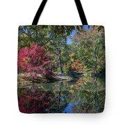 Maymont Japanese Garden Pond Tote Bag by Jemmy Archer