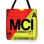 Mci Kansas City Luggage Tag I Tote Bag
