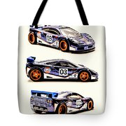 Mclaren F1 Gtr Tote Bag