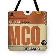 Mco Orlando Luggage Tag I Tote Bag