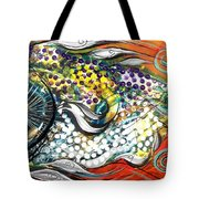 Mediterranean Fish Tote Bag