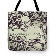 Melbourne Cup 1960 Tote Bag