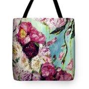 Melting Flowers Tote Bag