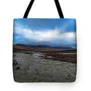 Meltwater Valley On Svalbard Tote Bag