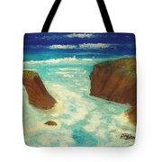 Mendocino Waves Tote Bag