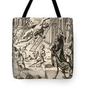 Mercury And Aeneas  State    Tote Bag