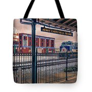 Merry Christmas From Bristol Tote Bag