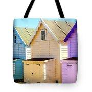 Mersea Island Beach Huts, Image 6 Tote Bag