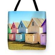 Mersea Island Beach Huts, Image 9 Tote Bag