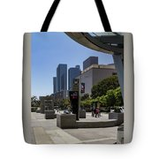 Metro Station Civic Center Los Angeles Tote Bag