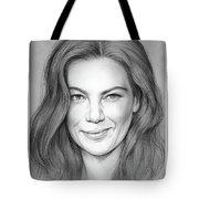 Michelle Monaghan Tote Bag