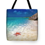 Middle Caicos Tranquility Awaits Tote Bag