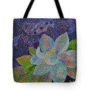 Midnight Magnolia II Tote Bag