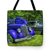 Mild Customs 1936 Ford And 1953 Chevy Tote Bag