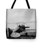 Military Biplane - Marine Flying Field - 1918 Tote Bag