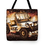 Military Machine Tote Bag