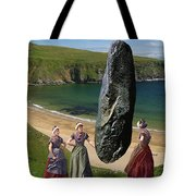 Milkmaids At The Monolith Tote Bag