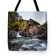 Mill On Crystal River Tote Bag
