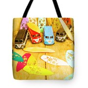 Mini Van Adventure Tote Bag