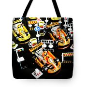 Miniature Motorsports Tote Bag