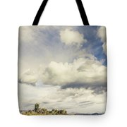 Minimal Mountaintop Meadow Tote Bag
