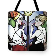 Mirror Mirror Tote Bag by Anthony Falbo