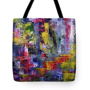 Mirrored Steps Tote Bag