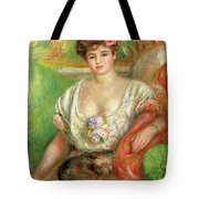 Misia Sert With A Lap Dog Tote Bag
