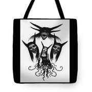 Miss Carnivorous - Artwork Tote Bag by Ryan Nieves