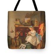 Miss Oakley Making The Scrapbook 1866 Tote Bag