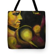 Mister Of The Universe Tote Bag by Eric Dee