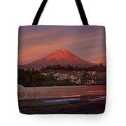 Misti Volcano In Arequipa, Peru, South America Tote Bag by Sam Antonio Photography