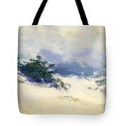 Misty Dunes Carmel Tote Bag