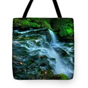 Misty Falls - 2976 Tote Bag