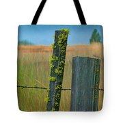 Misty Morning Moss Tote Bag