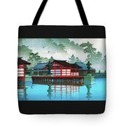Miyajima In The Mist - Digital Remastered Edition Tote Bag