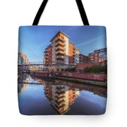 Modern Canal Living Tote Bag